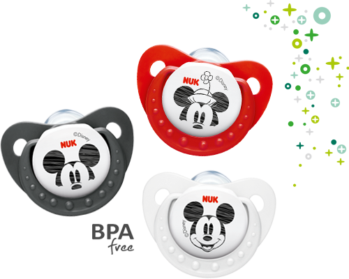 NUK Trendline Disney Mickey Mouse Soother